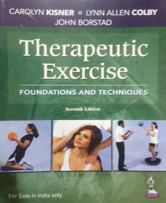 NEW: Therapeutic Exercise : Foundations and Techniques by John Borstad INTL 7/ed