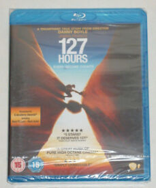 DVD FILM MOVIE BLURAY 127 HOURS ~ EVERY SECOND COUNTS BLU-RAY 2011 DANNY BOYLE⭐️