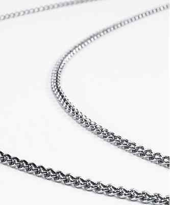 Silver Zoot Suit Heavy metal Gangster Chain Swing USA Retail Quality TUXXMAN (Zoot Suit Chain)