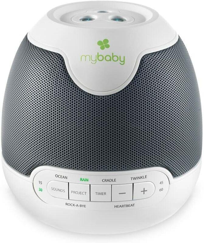 HoMedics MyBaby SoundSpa Lullaby - Sounds & Projection, Plays 6 Sounds
