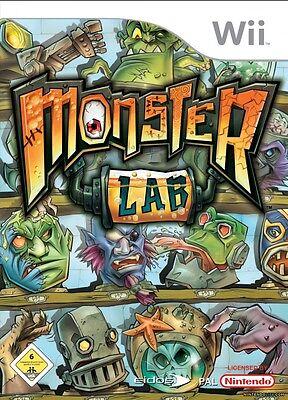 Monster Lab Wii Nintendo jeux jeu game games spellen spelletjes 1756