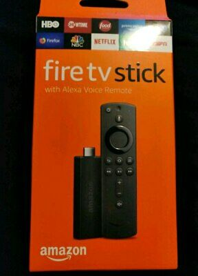 Amazon Fire TV Stick 2nd Gen W/ Alexa Remote FIRESTICK NIB SHIPPING 2 USA & UK