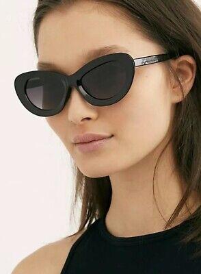 FREE PEOPLE CAT EYE SUNGLASSES BLACK New In (Free People Sunglasses)