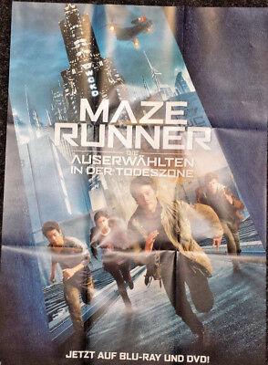 Filmposter zum DVD Blu-ray Film MAZE RUNNER DIE AUSERWÄHLTEN IN DER TODESZONE A1