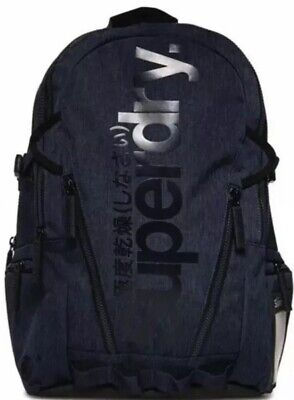 Superdry Gel Tarp Backpack Navy Grit
