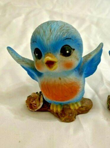 Vintage George Good Anthropomorphic Bluebird Figurine