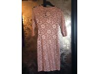 Amy Childs cream lace dress brand new size 12
