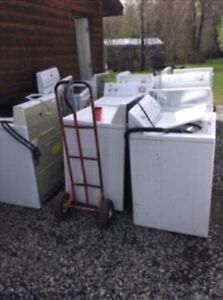 $10-30 for your broken or unwanted washer or dryer