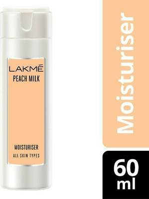 Lakme maximum Moisturizer Peach Milk-60ml free and-fast shipping best results