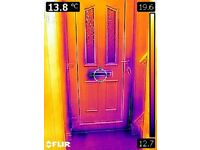 THERMAL INSPECTION / WE WILL LOCATE ANY HEAT LOSS IN YOUR PROPERTY