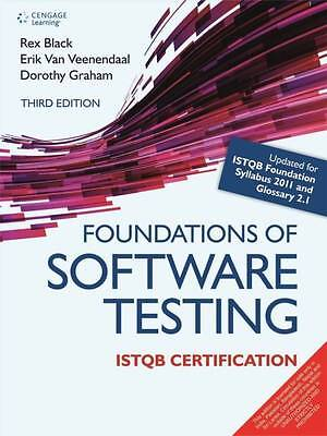 New  Foundations Of Software Testing Istqb By Rex Black Intl Ed