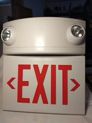 Hubbell Lighting - Dual-lite Model Lturw - Led Exit Sign