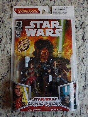 Exar Kun Ulic Quel Droma Star Wars Saga Moc Comic Pack Packs  6  2