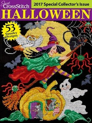Cross Stitch Pattern Magazine / Book HALLOWEEN 2017 Just CrossStitch 53 - Cross Stitch Halloween Magazine 2017