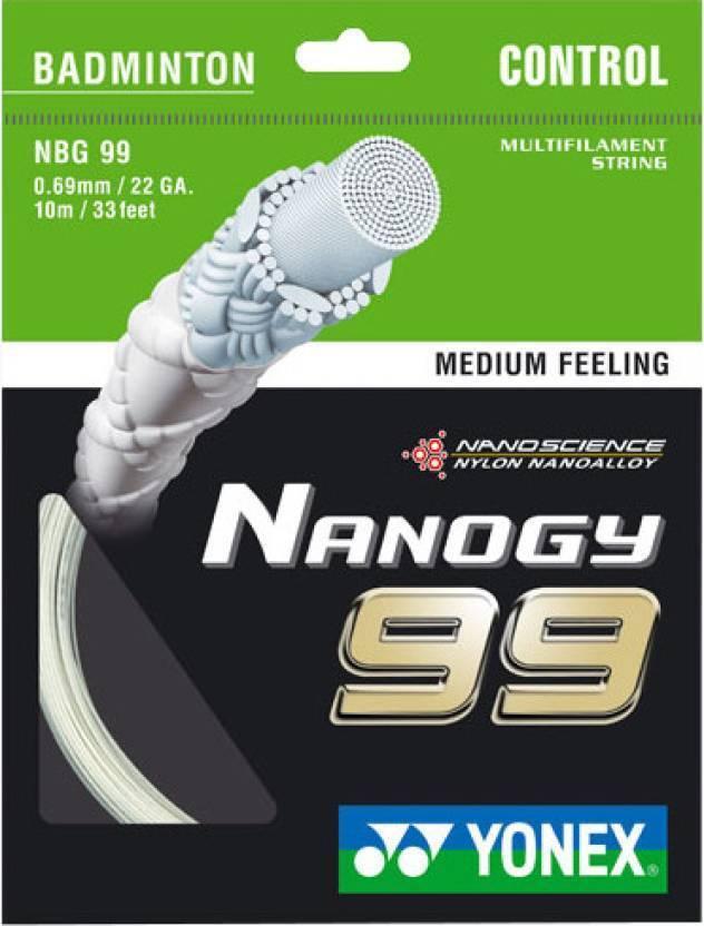Yonex Nanogy NBG 99 Badminton-Saite 10m