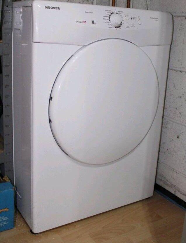 8kg vented dryer can deliver
