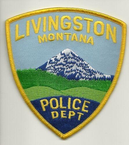 Livingston Police State Montana MT Scenic
