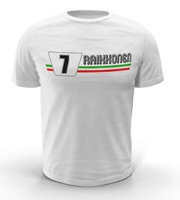 Kimi Raikkonen F1 T-shirt Ferrari Sauber (kids/adult)