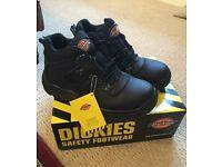 Dickies steel toe cap work boots
