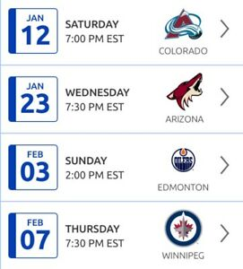 Montreal Canadians tickets