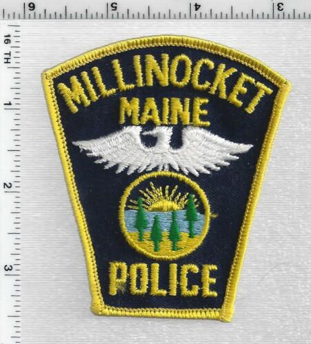 Millinocket Police (Maine) 1st Issue Shoulder Patch