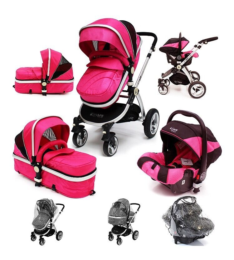 Pink Icandy Travel System