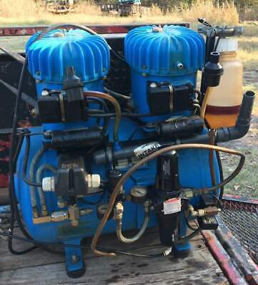 Jun Air Model 12-40 Quiet Running Air Compressor For Industrial Or Medical Use