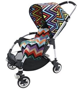 Unopened Bugaboo Bumblebee Missoni accessory set