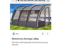 Denver 390 awning