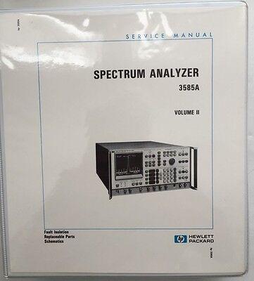 Hp 3585a Spectrum Analyzer Service Manual Volume 2 Pn 03585-90006