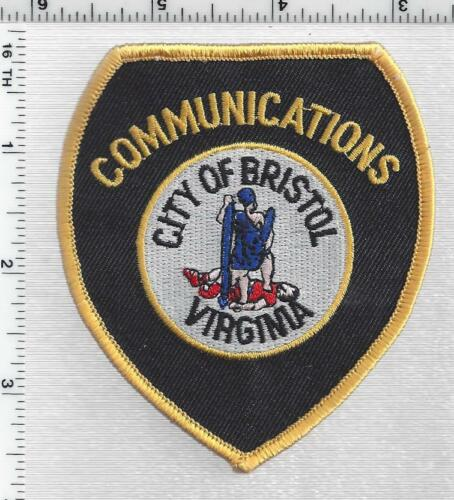 City of Bristol Communications  (Virginia) 1st Issue Shoulder Patch