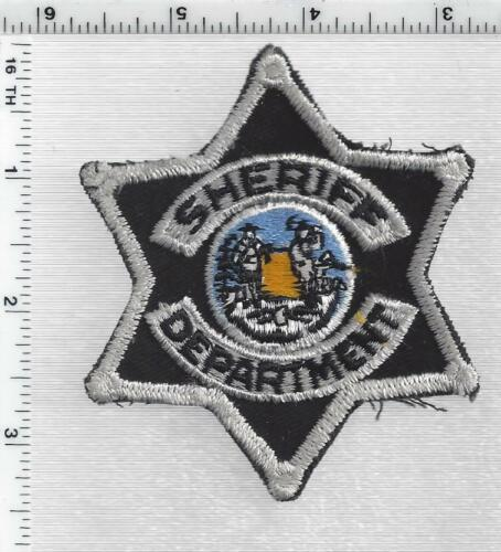 West Virginia Statewide Use Sheriff Department 1st Issue Cap/Hat Patch
