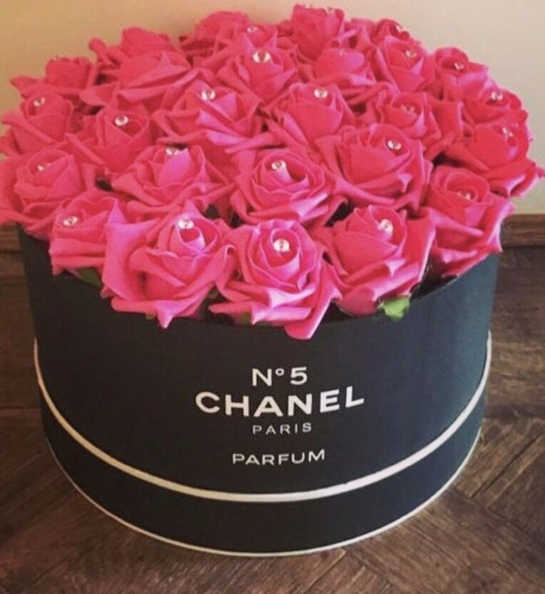 Hat Box Flowers Designer Artificial Flowers Home Decor In Market