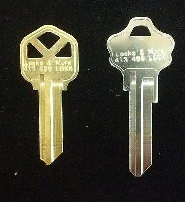 house lock key household keys cut by code  Kwikset,  Schlage,