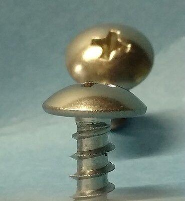 Phillips Truss Head Sheet Metal Screw 18-8 Stainless Steel 10 X 12 Qty 100