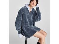 Zara Chenille Jumper Dress (MAKE ME OFFERS)