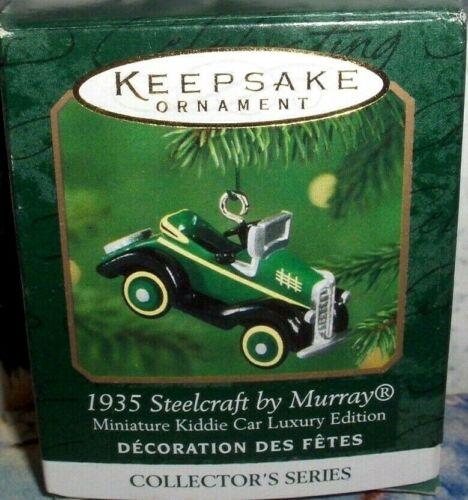 1935 Steelcraft By Murray`2000`Miniature-3Rd Kiddie Car Luxury,Hallmark Ornament