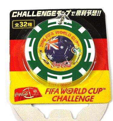 Coca-Cola Coke Schlüsselanhänger aus Japan WM 2006 - Australien