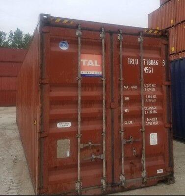 Savannah Ga - 40 High Cube Shipping 40ft Hc Storage Container Sale
