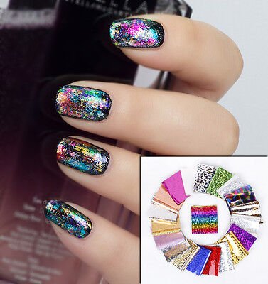 1.5m x 0.1m Nail Art Space Nails Foil Transfers Manicure Decoration Pedicure