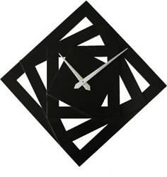 Wall Clock Screw Design - Black