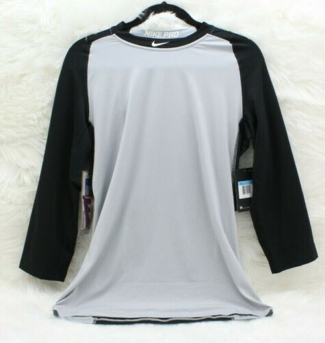 NIKE PRO Men ~PRO-COOL~ 3/4 Sleeve BASEBALL Shirt