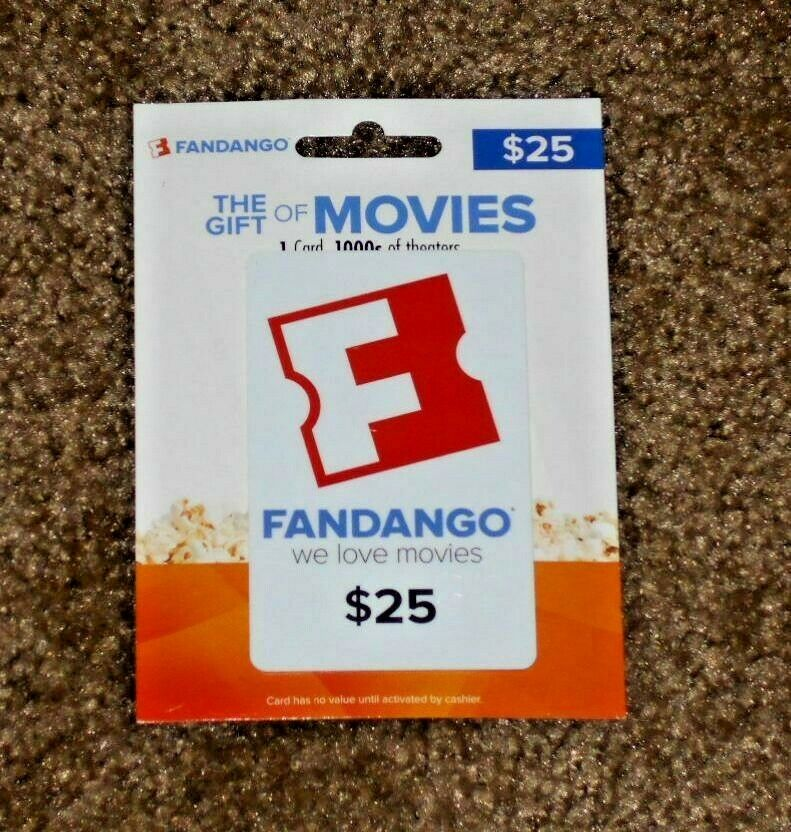 REDUCED FOR QUICK SALE 25 Fandango Gift Card - $13.99