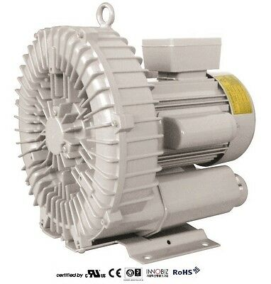 Pacific Regenerative Blower Pb-201 Hrb-201 Ring Vacuum And Pressure Blower