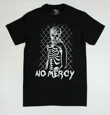 The Karate Kid Skeleton No Mercy 80s Retro Official Black T-Shirt New! (5D4