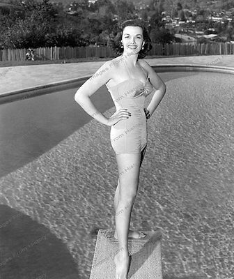 8x10 Print Jane Russell Leggy Pool Side 1948 #JR383