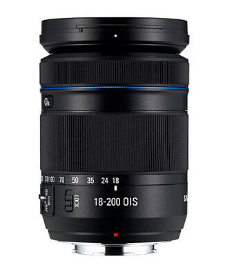 Samsung NX18-200mm f/3.5-6.3 OIS Aspherical Lens For NX1 30 300 500 (White Box)