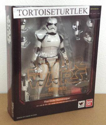 STAR WARS S.H.Figuarts First Order Stormtrooper Last Jedi Special Set figure