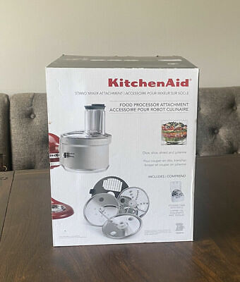 Kitchen Aid KSM2FPA Stand Mixer Food Processor Attachment with Dicing Kit