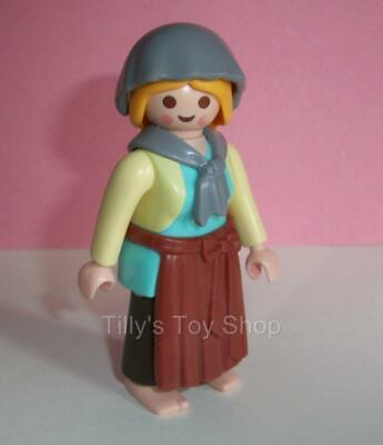 Playmobil  Figure - Victorian House/Palace/Country- Lady,Headscarf & Apron - NEW
